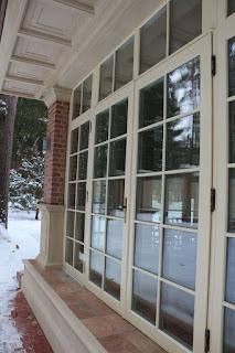 лиственничные окна