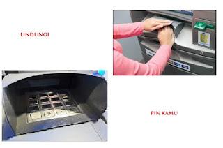 Tips aman transaksi di atm dengan melindungi pin