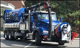 City of Kirkland, Washington Kenworth T880 Vacuum Truck