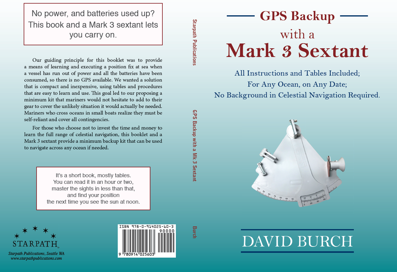 so our gps backup kit includes the book below which explains how to use the mark 3 which must start with how to read the scales the subject at hand