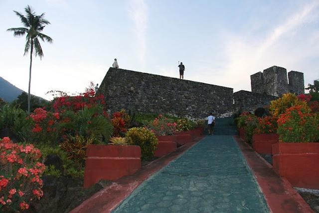 cara menuju benteng torre