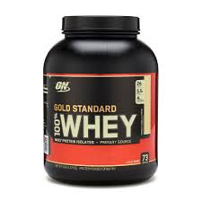 Optimum Nutrition(ON) 100% Whey Gold Standard.