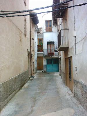 portal, San Roque, San Roc, cuesta, Beceite, Beseit, carreró