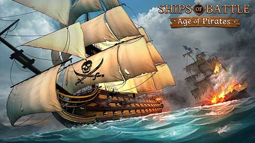 تحميل Ships of Battle Age of Pirates مهكرة
