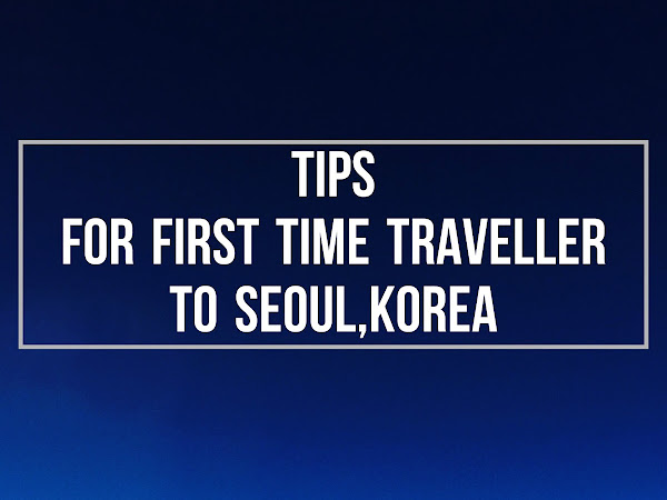 Travel Diary : Tips for first time traveller to Seoul,Korea | Touchdown Day(Day1)