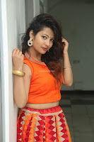 Shubhangi Bant in Orange Lehenga Choli Stunning Beauty ~  Exclusive Celebrities Galleries 012.JPG