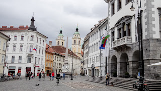 Its nice to walk through Ljubliana