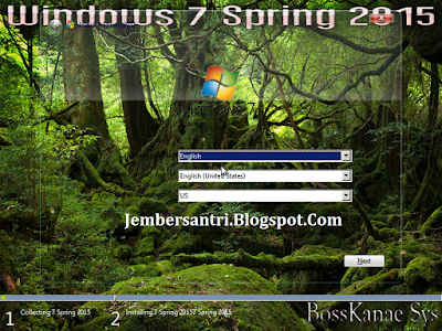 Windows 7 Spring x64 / 64bit 2015 Full Plus Activation