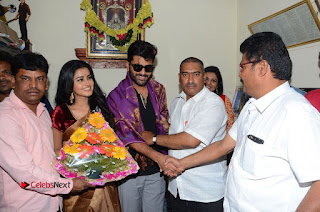 Shatamanam Bhavati Team at Sandhya Theater  0127.JPG