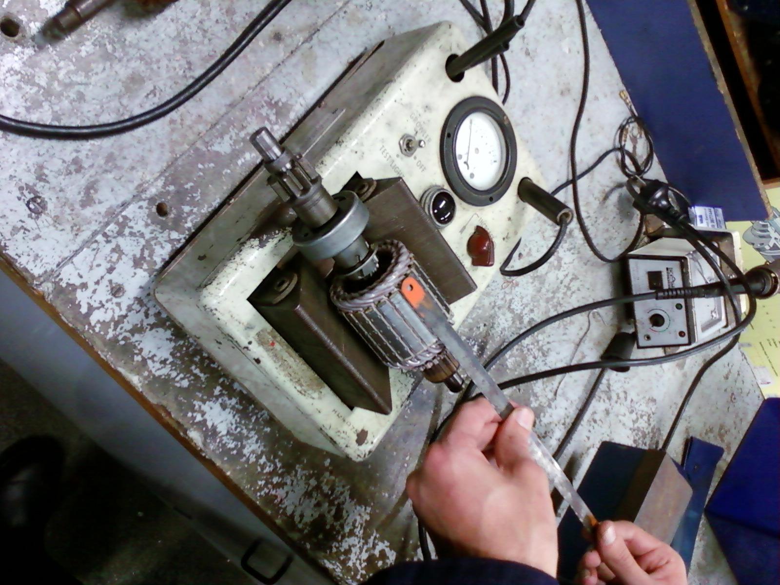 Richard Ttec 4841 Starter Motor Bench Repair And On Car
