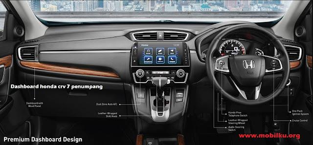 interior, Honda CRV, dashboard, fitur, panel, gambar, kabin, hitam, stir, sistem audio
