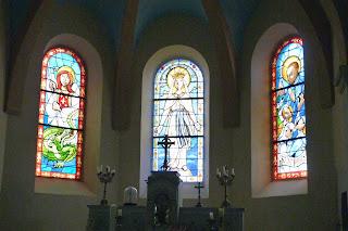 Capilla neogótica del palacio de los Obispos.
