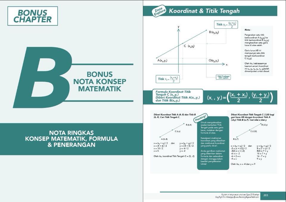 Peperiksaan N29 - Nota Konsep Matematik