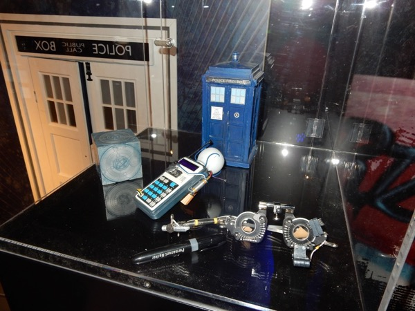 Screen-used Doctor Who props
