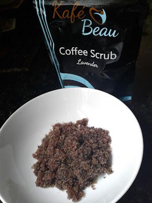 Exfoliate with Coffee Scrub
