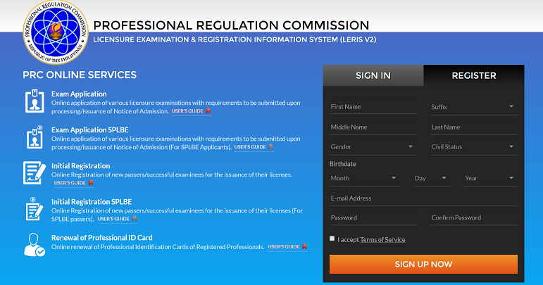 How to Apply for Initial or Renewal of PRC License | INFINITHINK.ORG