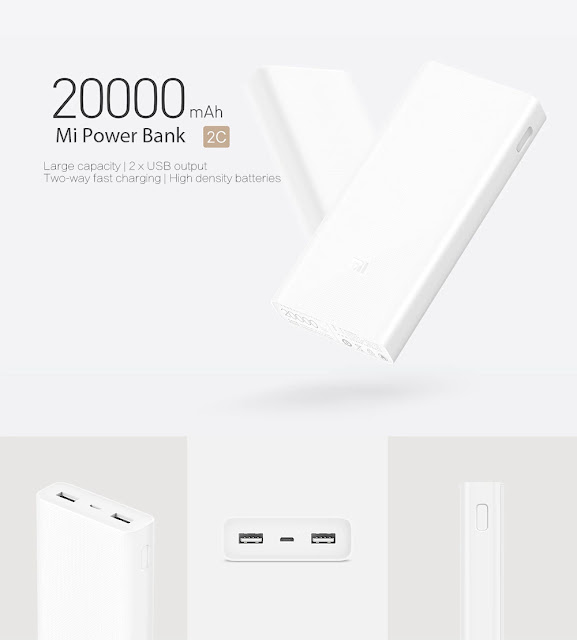 Powerbank original da Xiaomi de 20000mAh