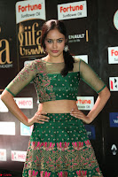 Nandita Swetha in a tight Green Choli Ghagra at IIFA Utsavam Awards March 2017 ~ 074.JPG