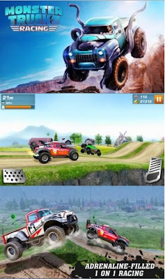 Monster Truck Racing Mod Unlimited Money Apk v2.1.8