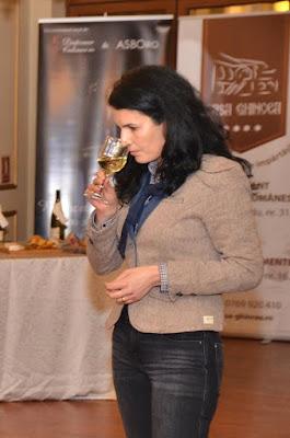 oenolog Mirela Gheorghe