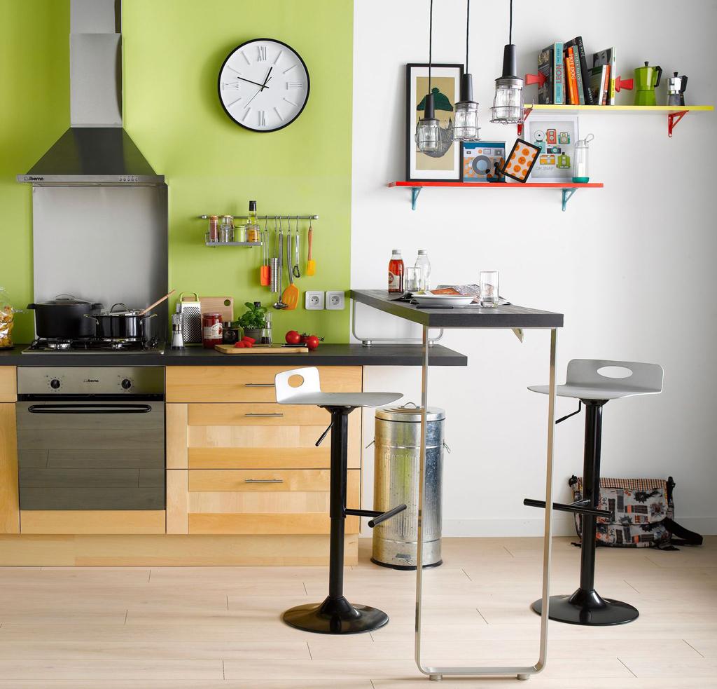 C mo planificar un lugar para comer en una cocina peque a for Como planificar mi cocina