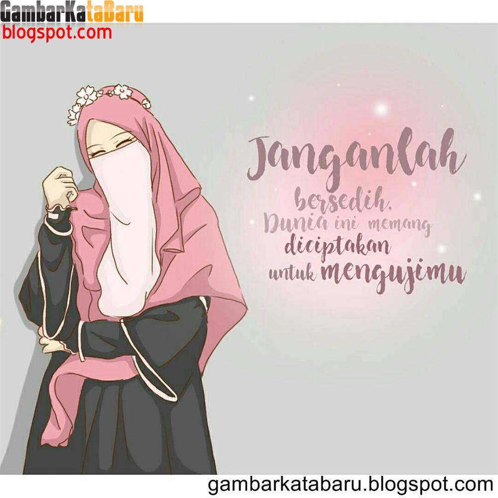 Kata Kata Islami Kartun Muslimah Nusagates