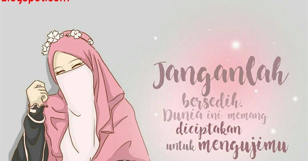 Gambar Kartun Muslim Dan Kata Bijak