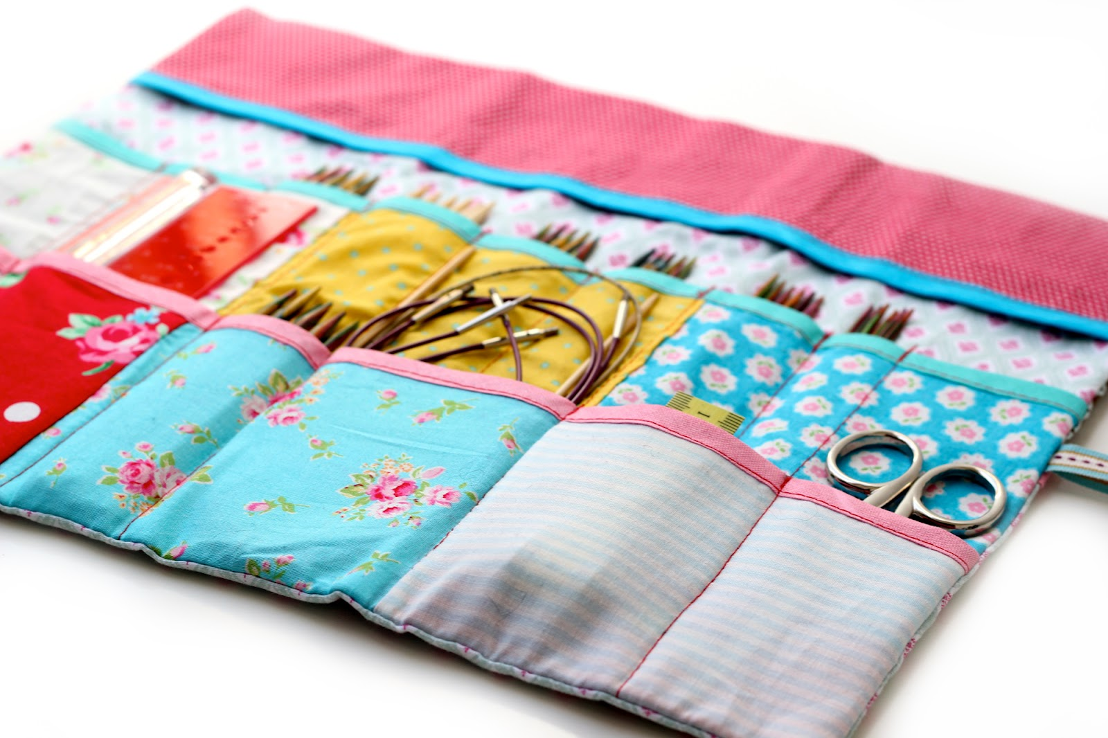 Magnificent Knitting Needle Roll Pattern Model - Blanket Knitting ...