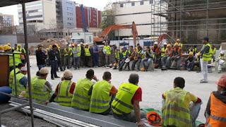 Εργατικό «ατύχημα» στο εργοτάξιο του πρώην «Παπαστράτος» στον Πειραιά