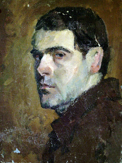 Михаил Анчаров, Portraits of Painters, Self Portraits