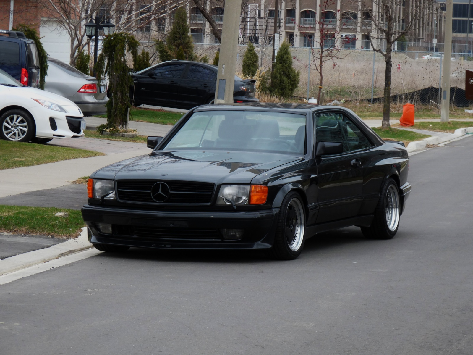 Mercedes Benz 560 Sec 6 0 Amg Is A Box Flared Bad Ss From