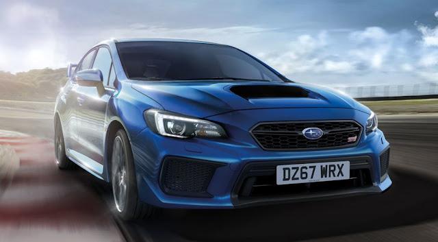 Subaru WRX STI покидает рынок Великобритании.