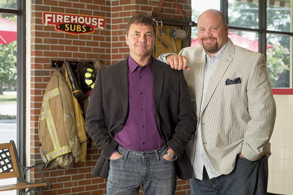 Pendiri Firehouse Subs : Chris dan Robin Sorensen