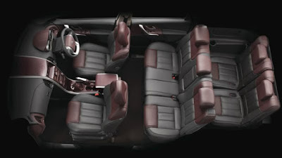 New Mahindra XUV 500 Luxury SUV interior look