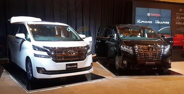 Toyota Alphard Mobil Yang Paling Nyaman Untuk Mudik