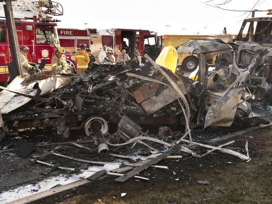 visalia tulare county fatality truck crash caldwell avenue fire christopher paul nelson
