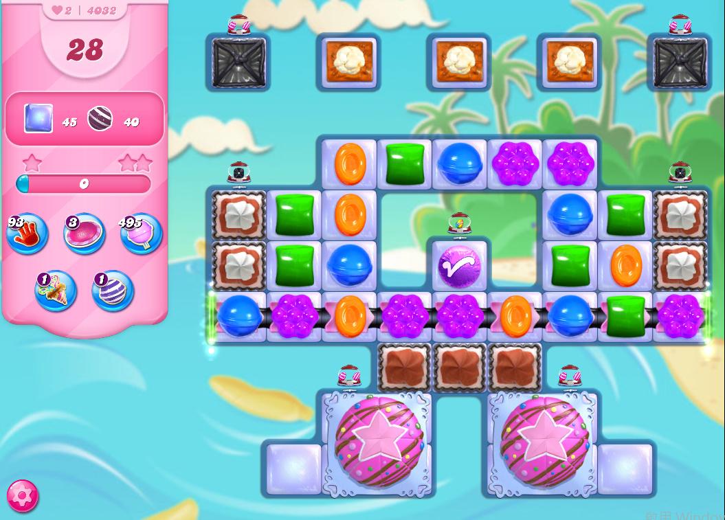 Candy Crush Saga level 4032