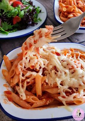 Tomato & Chilli Pasta Bake Slimming world recipe