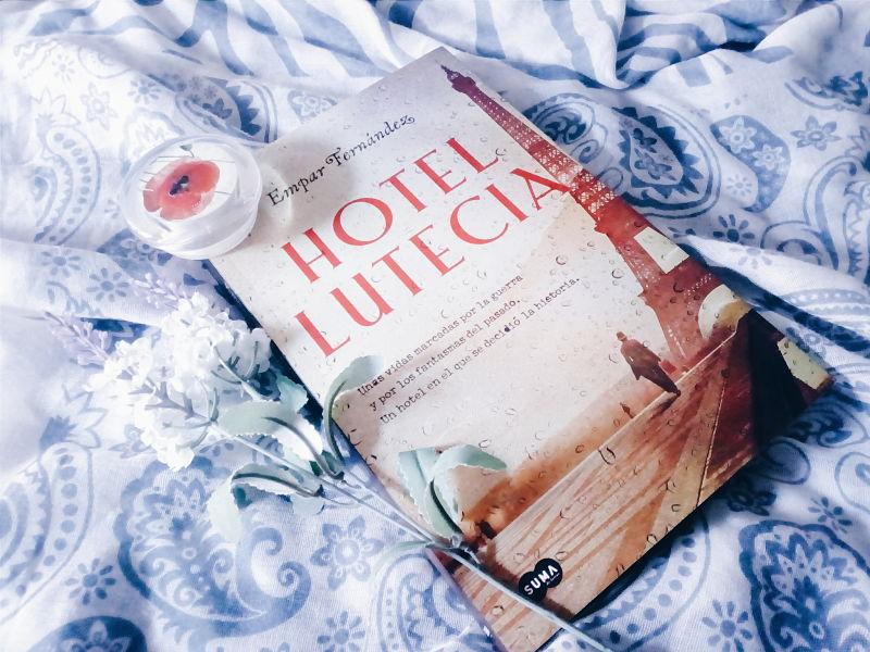 Foto del libro Hotel Lutecia de la autora Empar Fernandez