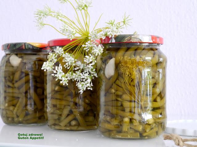 Fasolka szparagowa w słoikach - zimowe zapasy - Czytaj więcej »