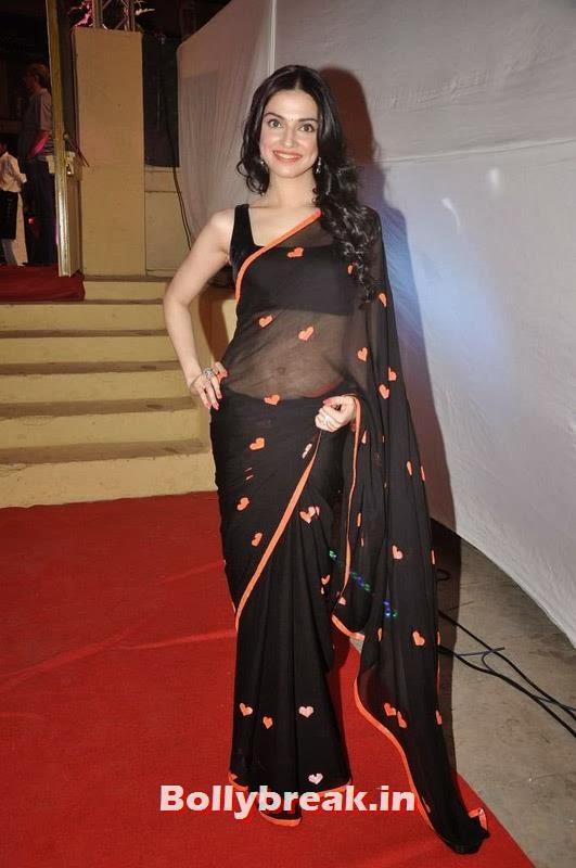 , Divya Khosla at Yaariyan Success Bash in Black Saree