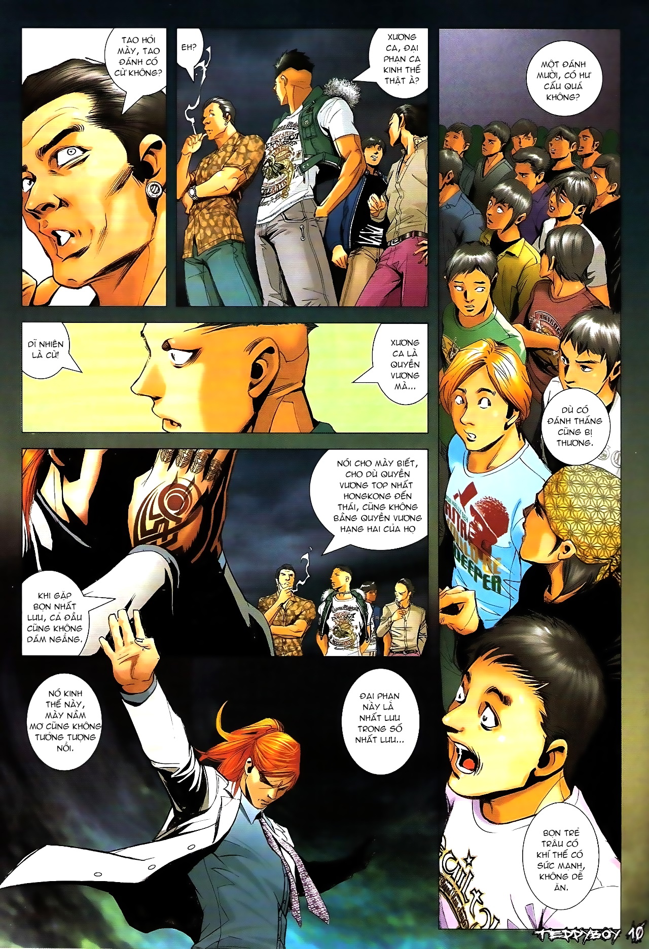 Người Trong Giang Hồ - Chapter 1289: Thái Tử thứ hai - Pic 9
