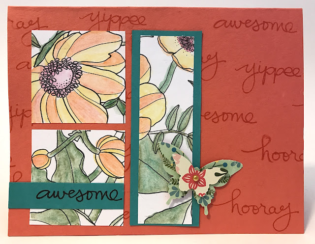 watercolor greeting card lisa fulmer