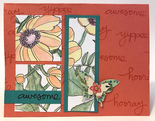 watercolor greeting card lisa fulmer