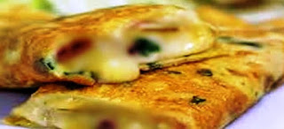 Omolete de Frango com Ricota