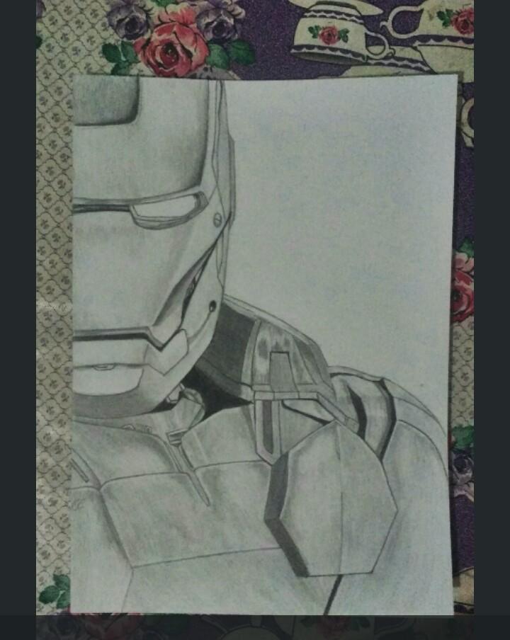 Jack Drawings Desenho Homem De Ferro Realista