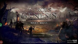 Heroes Genesis Beta v0.9 Apk Android