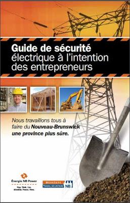 Guide de Sécurité électrique à l'intention des entrepreneurs en PDF