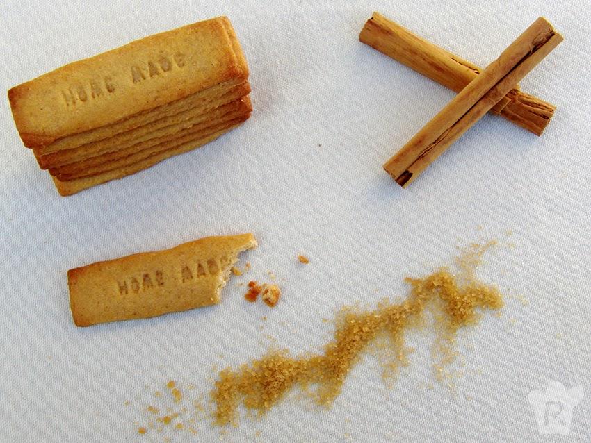 Galletas caramelizadas 'speculoos' (tipo Lotus)