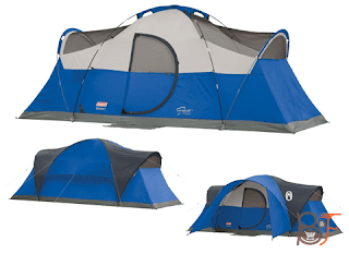Coleman Montana 8-Person Tent - It's Camping Time